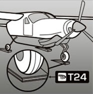 t24 industry uses graphic aircraft